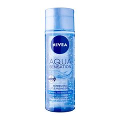 Nivea Face Care For Woman Cleanser Aqua Sensation Invigorating Cleansing Gel 200ml