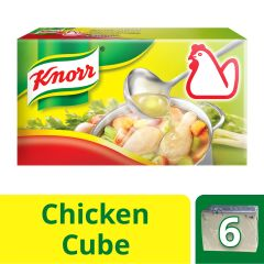 Knorr Chicken Stock Cubes (X6) 60 g