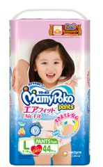 Mamy Poko Air Fit Pants Girl L 44S