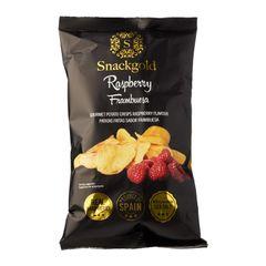 Snackgold Raspberry Potato Chips 125 g