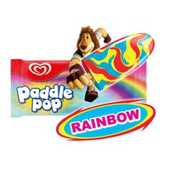Paddle Pop Rainbow Ice Cream Stick 60 ml