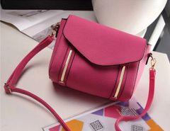 Korean Fashion Zipper Street Shoulder Bag