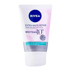 Nivea Face Care For Woman Cleanser Extra White Repair Pore Minimiser Foam 100ml