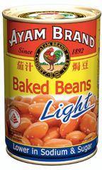 Ayam Baked Beans Light 425g