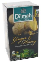 Dilmah F/Env T/Bag-Ginger&Honey 20X2G