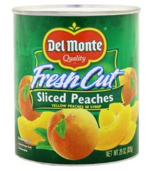 Delmonte F/Cut Peach Sliced 825G