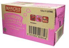 Marigold UHT Strawberry Milk 12X1L