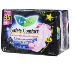 Laurier S/C Nightsafe 35CM 2X12S