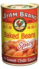Ayam Baked Beans Spicy 425g
