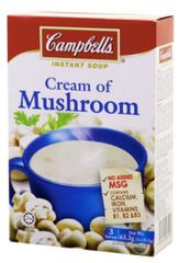 Campbell's Cream Of Mushroom (M) 3X22g