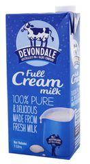 Devondale Milk Full Cream 1L