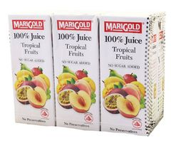 Marigold 100%TROPICAL Fruits 6X250ML