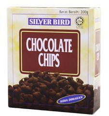 Silver Bird Choc Chips 200G