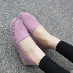 Classical Hot Round Toe Simple Casual PU Flat