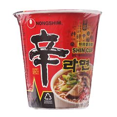 Nongshim Spicy Mushroom Flavored Cup Noodles 72g