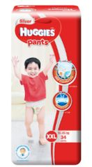 Huggies Silver Pants XXL 34S