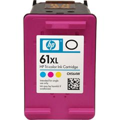 HP61XL TRI-COLOR INK CARTRIDGE CH564WA