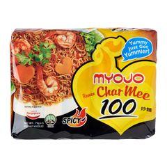 Myojo Ramen Char Mee 100 Dry Noodle 5 x 75g
