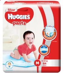 Huggies Silver Pants M 64S