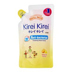 Kirei Kirei Natural Citrus Anti-Bacterial Foaming Hand Soap Refill Pack 200 ml