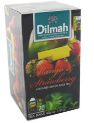 Dilmah F/Env T/Bag-Mango&Straw 20X2G