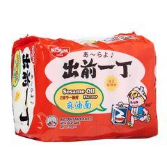 Nissin Chu Qian Yi Ding Sesame Instant Noodles 5 x 85g