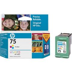 HP 75 TRI-COLOR INK CARTRIDGE CB337WA