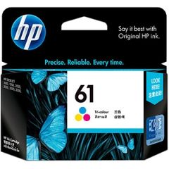 HP 61 TRI-COLOR INK CARTRIDGE SD550AA