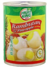 Fruit King Rambutan Pineapple 565G