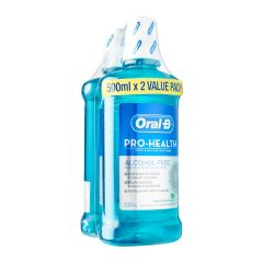 Oral-B Pro-Health Fresh Mint Rinse Value Pack 2 per pack