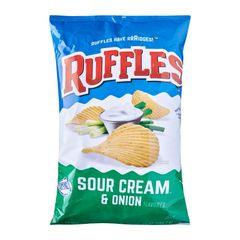 Ruffles Sour Cream And Onion Potato Chips 184.2 g