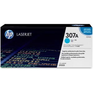 HP 307A CYAN LASERJET TONER CARTRIDGE CE741A