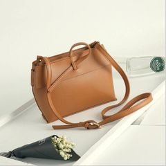 Vintage Casual Soft Zipper Shoulder Bag
