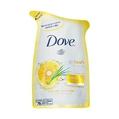 Dove Go Fresh Energize Body Wash 1L Refill Pack 650G