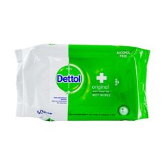 Dettol Original Wet Wipes 50 Sheets