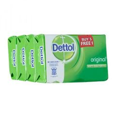 Dettol Original Soap Buy 3 Get 1 Free