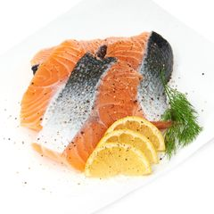 Fresh Norwegian Salmon Fillets 240 g
