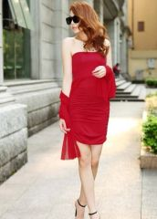 Charming Elegant Korean Style Sexy Bodycon Summer Dress