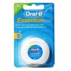 Oral-B Essential Floss Mint Waxed Dental Floss