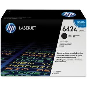 HP 642A BLACK LASERJET TONER CARTRIDGE CB400A