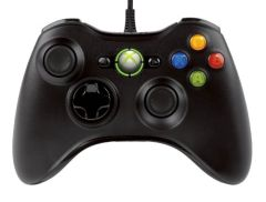 Wired Xbox 360 Controller - Black