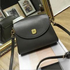 Concise Style Pu Mini Shoulder Bag