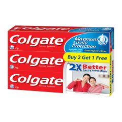 Colgate Anticavity Toothpaste Great Regular Flavour Triple Pack