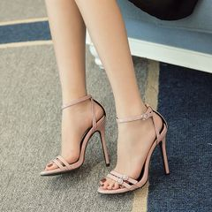 New Arrival Thin Straps Stiletto Sandals
