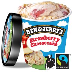 Ben & Jerry's Strawberry Cheese Cake Ice Cream 458 ml