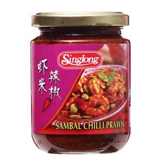 Sing Long Sambal Chilli Prawn 230 g