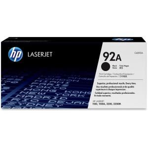 HP 92A BLACK LASERJET TONER CARTRIDGE C4902A