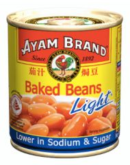 Ayam Baked Beans Light 230g