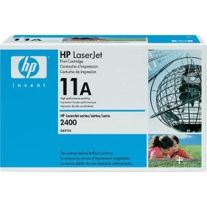 HP 11A BLACK LASERJET TONER CARTRIDGE Q6511A