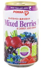 Pokka Mixed Berries&Carrot 300ml